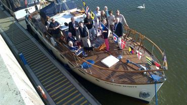 One of our motor yachts: observations and reflections from Highland Beauty